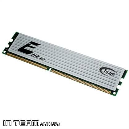 Team (TEDD1024M800HC6) Elite, 1Gb, DDR2-800 (PC6400)