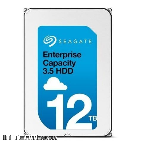 Seagate Enterprise Capacity (ST12000NM0007), 12TB, 7200rpm, 256MB, SATA III, 3.5""