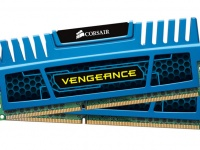 Corsair (CMZ4GX3M2A1600C9B) Vengeance Blue, 4Gb, DDR3-1600 (PC-12800) (Kit of 2x2Gb )