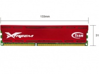 Team (TXD38192M2133HC11ADC-V) Xtreem Vulcan, 8Gb, DDR3-2133 (PC17000) (Kit of 2x4Gb)