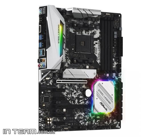 ASRock (B450 Steel Legend), sAM4, ATX