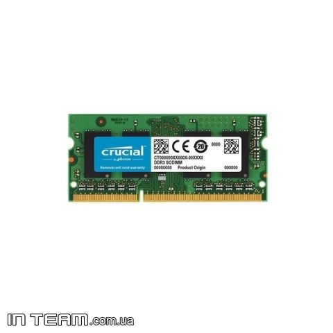 Micron Crucial (CT102464BF186D), 8GB, DDR3-1866 (PC3-14900)