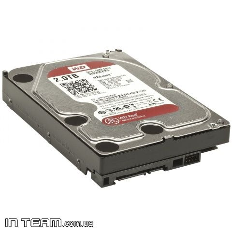 WD Red (WD20EFRX), 2Tb, 5400 - 7200 rpm, 64Mb, SATA III, 3.5""