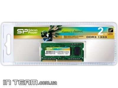 Silicon Power (SP002GBSTU133V02), 2Gb, DDR3-1333 (PC10600)