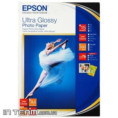 Epson Ultra Glossy Photo Paper