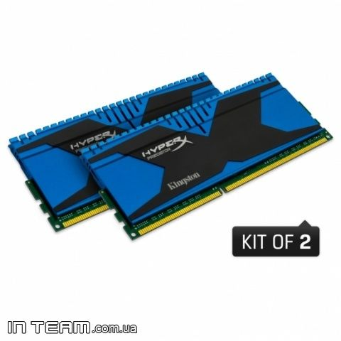 Kingston HyperX Predator (KHX18C10T2K2/8), 8Gb, DDR3-1866 (PC3-15000) (Kit of 2x4Gb)