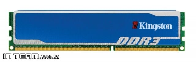 Kingston (KHX1600C9D3B1/4G) HyperX, 4Gb, DDR3-1600 (PC12800)