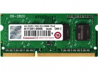Transcend (TS512MSK64V6H), 4Gb, DDR3-1600 (PC3-12800)