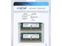 Crucial (CT2C8G3S186DM), 16Gb, DDR3L-1866 (PC3-14900) (Kit of 2x8Gb) for MaC