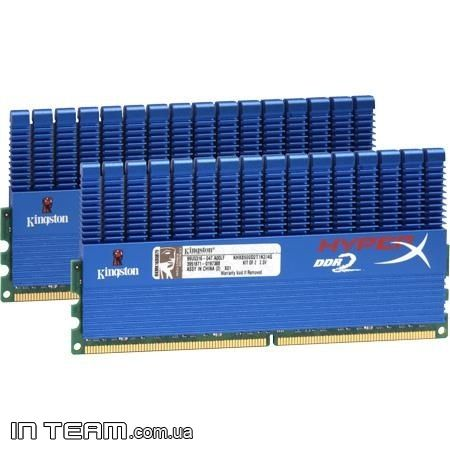 Kingston (KHX8500D2T1K2/4G) HyperX Gold, 4Gb, DDR2-1066 (PC2-8500), (Kit of 2x2Gb)