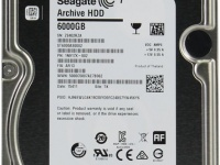 Seagate Archive HDD v2 (ST6000AS0002), 6ТВ, 128MB, SATA III, 3.5""