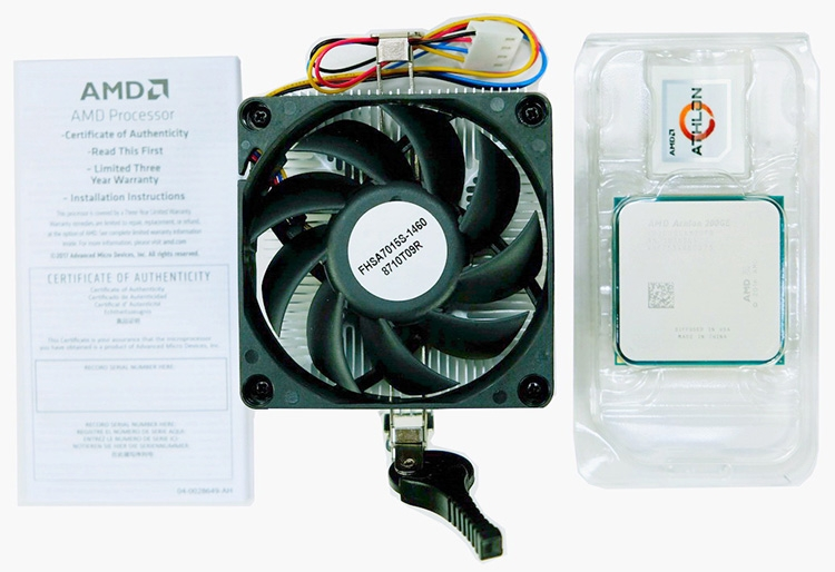 двухъядерный процессор AMD