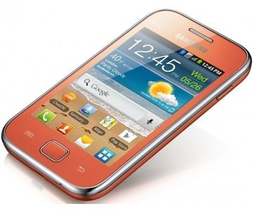 Samsung S6802 Galaxy Ace Duos (GT-S6802ZOASEK), Orange