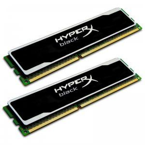 Kingston (KHX13C9B1BK2/8) HyperX Black, 8Gb DDR3-1333 (PC3-10600)(Kit of  2x4Gb)