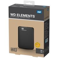 WD Elements (WDBUZG5000ABK), 500Gb, USB 3.0, 2.5""
