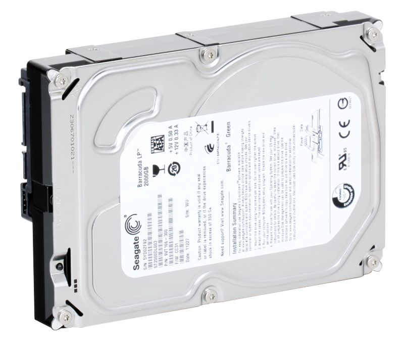 Seagate Barracuda Green (ST2000DL003), 2Tb, 5900 rpm, 64Mb, SATA III, 3.5""
