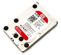 WD Red (WD40EFRX), 4Tb, 5400-7200rpm, 64Mb, SATA III
