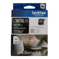 Картридж Brother (LC567XLBK), Black