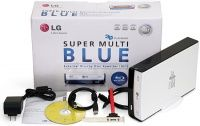 LG Blu-Ray SuperMulti (BE12_LU30), USB2.0/eSATA