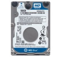 WD Blue (WD5000LPCX), 500Gb, 5400rpm, 16Mb, SATAIII, 2.5""