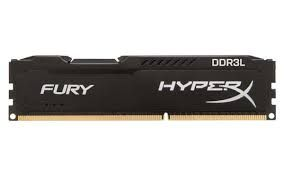 Kingston HyperX FURY Black (HX318LC11FB/8), 8Gb, DDR3L-1866 (PC3-14928)