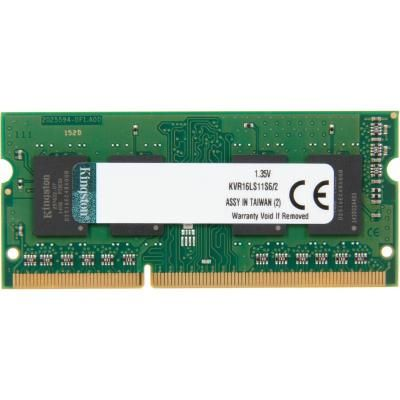 Kingston (KVR16LS11S6/2), 2Gb, DDR3L-1600 (PC3L-12800)