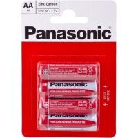 Panasonic RED ZINK R6 BLI 4 ZINK-CARBON (R6REL/4BPR)