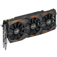 Asus GeForce GTX 1080 ROG Strix (STRIX-GTX1080-8G-GAMING), 8Gb, 256bit