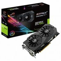 Asus GeForce GTX 1050 Ti (STRIX-GTX1050TI-4G-GAMING), 4Gb, 128bit