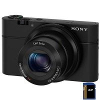 Sony Cyber-Shot RX100 Body (DSCRX100.CEE2), Black