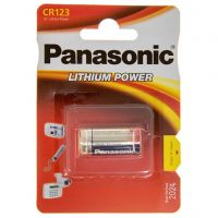 Panasonic CR 123 BLI 1 LITHIUM (CR-123AL/1BP)