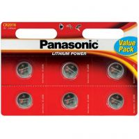 Panasonic CR 2016 BLI 6 LITHIUM (CR-2016EL/6B)