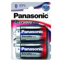 Panasonic Everyday Power D BLI 2 Alkaline (LR20REE/2BR)