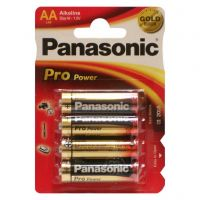Panasonic Pro Power AA BLI 4 Alkaline (LR6XEG/4BP)