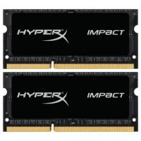 Kingston HyperX Impact (HX318LS11IBK2/16), 16Gb, DDR3L-1866 (PC3-14900) (Kit of 2x8)