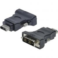 Digitus (AK-320500-000-S), DVI-I to HDMI, Black