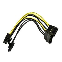 Dynamode Molex х 2 to PCI-E 8Pin(6+2 ) 16AWG