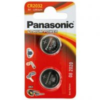 Panasonic CR 2032 BLI 2 Lithium (CR-2032EL/2B)