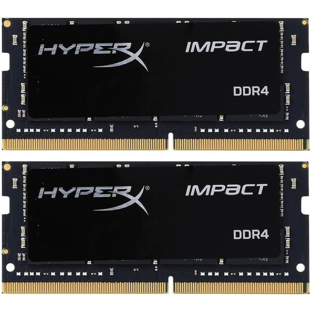 Kingston HyperX Impact (HX424S14IBK2/32), 32GB, DDR4-2400 (PC4-19200) (kit of 2x16GB)