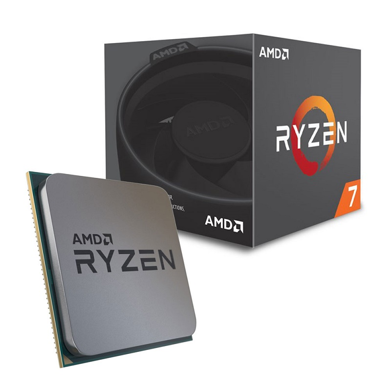 AMD Ryzen 7 2700 (YD2700BBAFBOX), sAM4, BOX