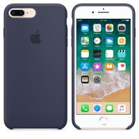 Apple Silicone iPhone 8 Plus / 7 Plus Midnight Blue (MQGY2ZM/A)