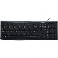 Logitech K200 Media (920-008814), USB, Black