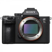 Sony Alpha a7 III Body (ILCE7M3B.CEC), Black