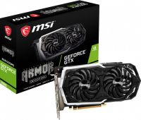 MSI GeForce GTX 1660 (GTX 1660 ARMOR 6G OC), 6GB, 192bit