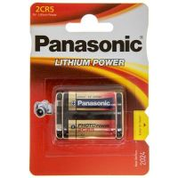 Panasonic 2CR-5L BLI 1 Lithium (2CR-5L/1BP)