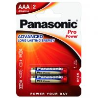 Panasonic Pro Power AAA BLI 2 Alkaline (LR03XEG/2BP)