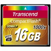 Transcend 1066X (TS16GCF1000), 16GB, Compact Flash