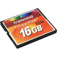 Transcend 133X (TS16GCF133), 16GB, Compact Flash