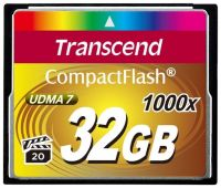 Transcend 1066X (TS32GCF1000), 32GB, Compact Flash