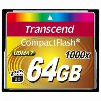 Transcend 1000X (TS64GCF1000), 64GB, Compact Flash